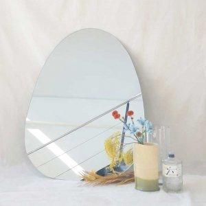 espejo forma ovalada